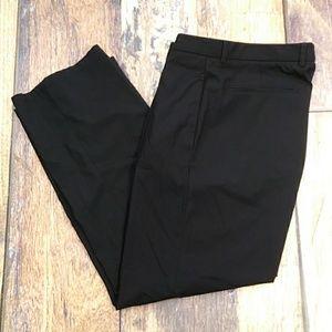 Armani Flat Front Men's Black Dress Slacks Size 34